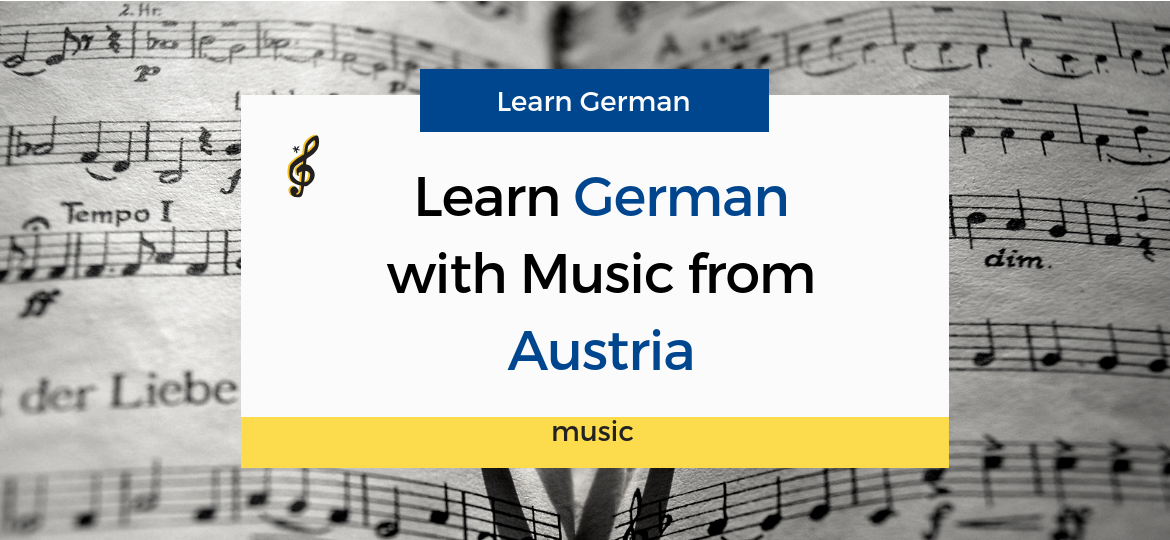 German learning with music