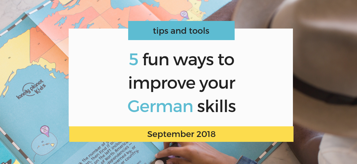 Improve your German skills
