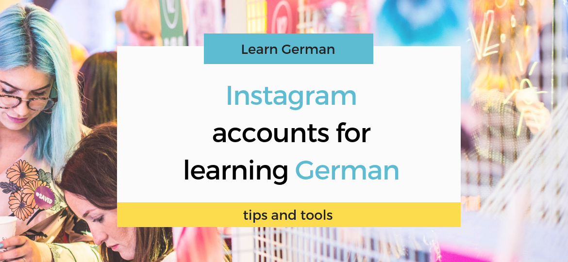 Instagram accounts for learning German