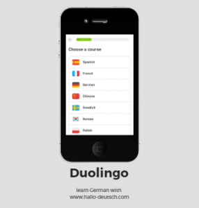 learn German with Duolingo