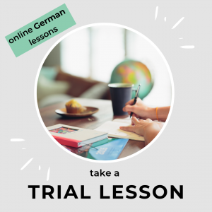 online German lesson with a native speaker