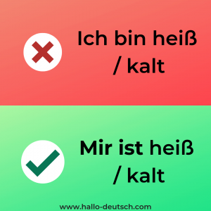 mistake made by German learners