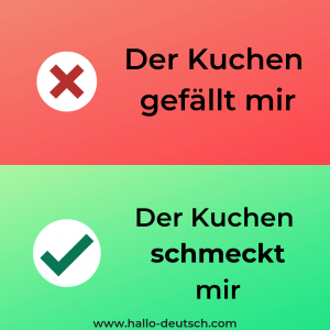 German grammar mistakes
